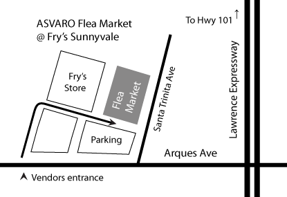 [Flea Market Map]